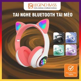 [HOT] Tai Nghe Mèo Chụp Tai Bluetooth Màu Hồng Siêu Dễ Thương DaryHouse Headphone Tai Mèo Cute Có Mic Âm Bass Mạnh Mẽ thumbnail
