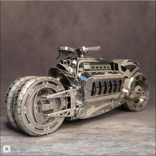 [Mã TOYUP giảm 15% đơn bất kì] Mô hình 3D kim loại lắp ráp mô tô Dodge Tomahawk [ Chưa Lắp ]