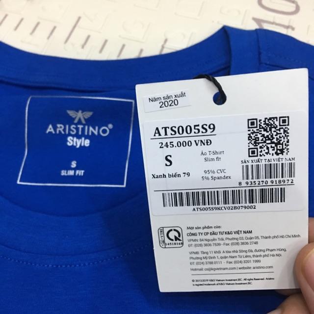 Áo thun nam áo cộc tay ARISTINO - slim - 4 MÀU- CÓ XXL ATS005S9