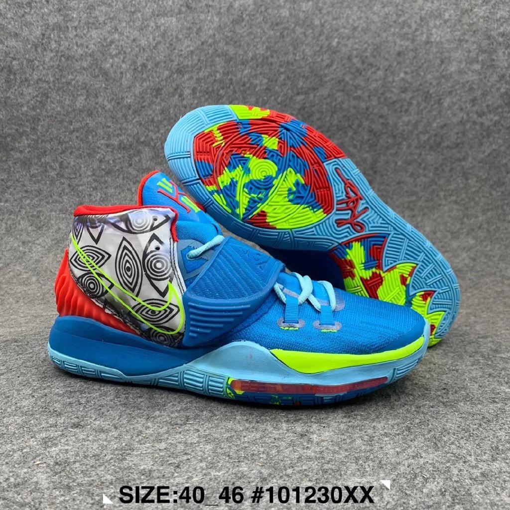 ต้นฉบับ 100% รองเท้าบาสเก็ตบอล Air Cushion Nike Air ผู้ชาย Nike Kyrie 6 size:40-46