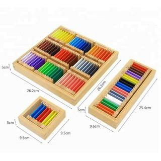 Shop Mẹ Tít Giáo Cụ Montesori – Hộp Thẻ Màu – Colour Box