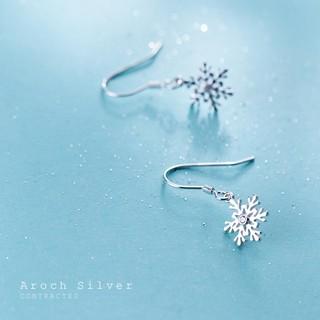 Hình ảnh [Mã FABR33 giảm 15% tối đa 50K đơn từ 150K] Bông tai bông tuyết xinh xắn cho nữ B2620 - Bảo Ngọc Jewelry-5