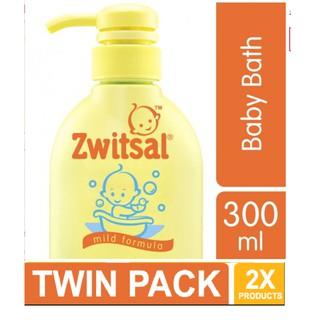 Zwitsal Baby Bath Classic 300ml Twin Pack