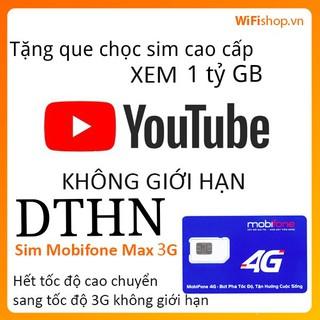 [DTHN-IPHN2-DIP50-GIAITRI5-Y60-S50] Sim 4g Mobifone MAX KHÔNG GIỚI HẠN DUNG LƯỢNG DATA MDT250A