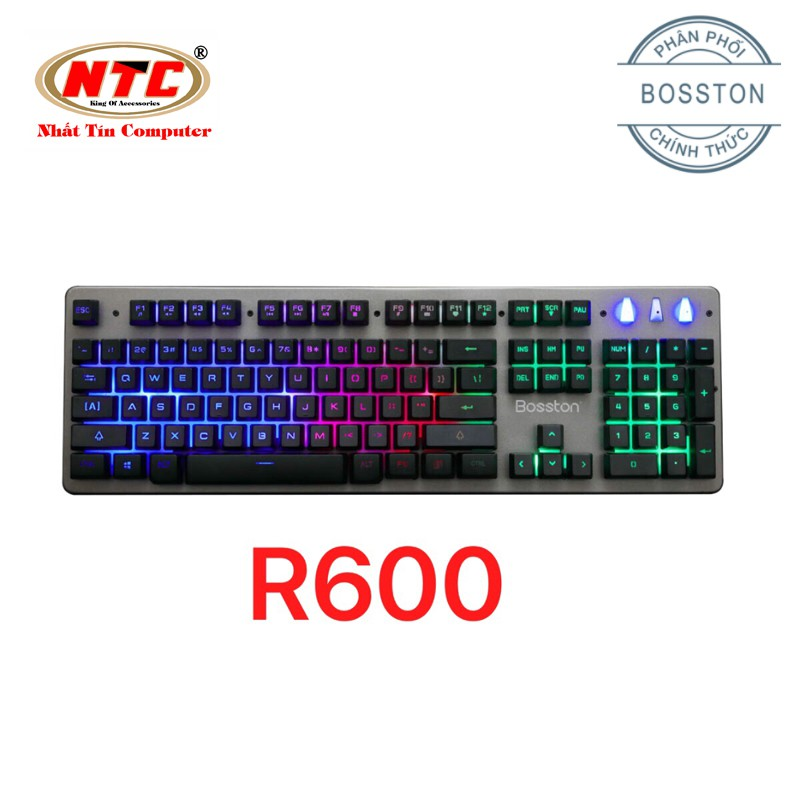 Bàn phím giả cơ chuyên game Bosston R600 - Led đa màu (đen) Hãng Phân Phối Chính Thức - 2539734 , 1207952576 , 322_1207952576 , 274000 , Ban-phim-gia-co-chuyen-game-Bosston-R600-Led-da-mau-den-Hang-Phan-Phoi-Chinh-Thuc-322_1207952576 , shopee.vn , Bàn phím giả cơ chuyên game Bosston R600 - Led đa màu (đen) Hãng Phân Phối Chính Thức
