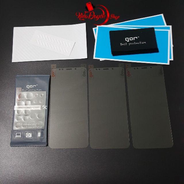 Xiaomi Redmi 5 Plus bộ 4 miếng dán Full màn hình chính hãng Gor - 3070417 , 1234263882 , 322_1234263882 , 85000 , Xiaomi-Redmi-5-Plus-bo-4-mieng-dan-Full-man-hinh-chinh-hang-Gor-322_1234263882 , shopee.vn , Xiaomi Redmi 5 Plus bộ 4 miếng dán Full màn hình chính hãng Gor