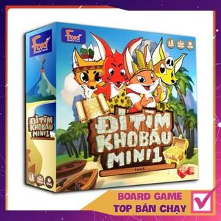 [KHÔNG HAY TRẢ TIỀN] Board game-Đi tìm kho báu mini 1 Foxi-đồ chơi phát triển tư duy-dễ chơi-vui nhộn-giá siêu rẻ