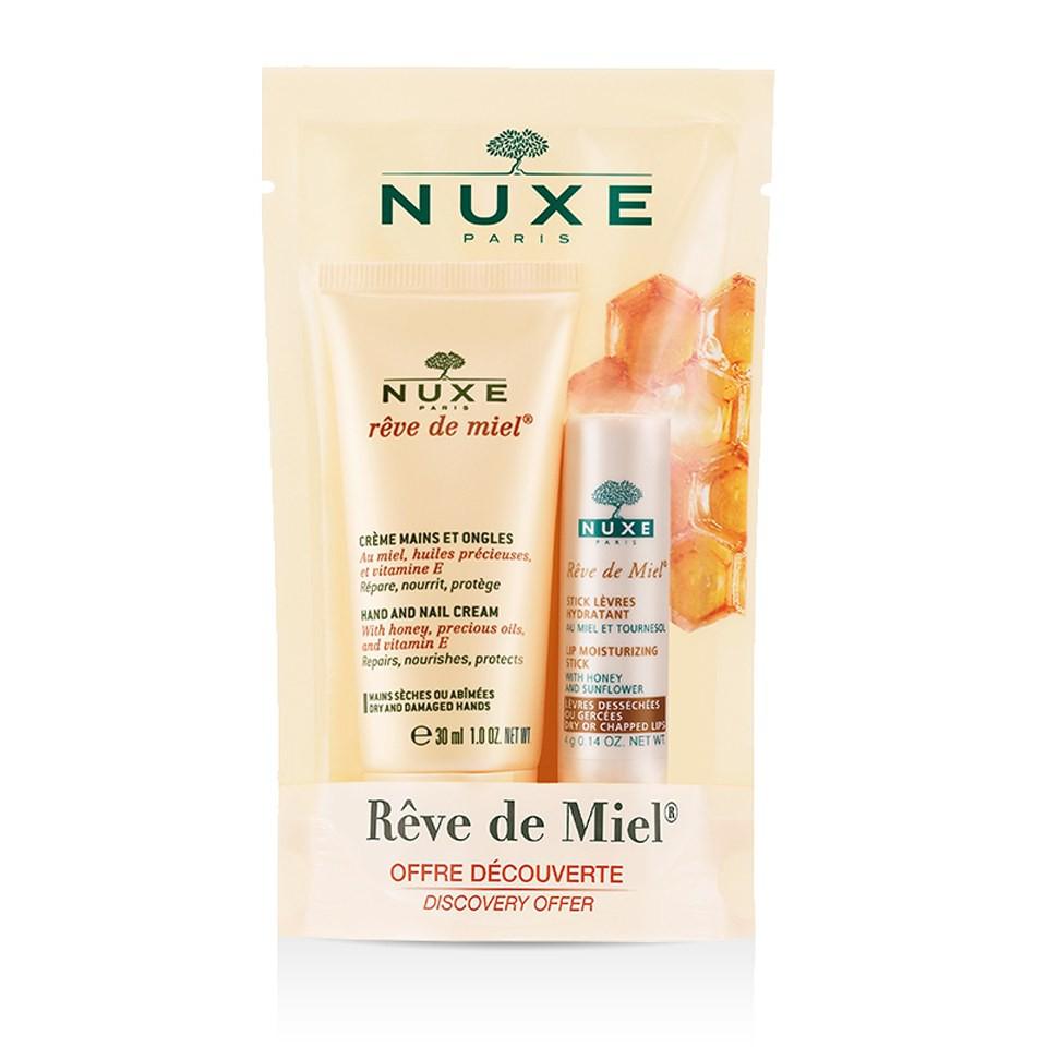 Set kem dưỡng da tay + dưỡng môi thỏi Nuxe - 3286891 , 675167403 , 322_675167403 , 195000 , Set-kem-duong-da-tay-duong-moi-thoi-Nuxe-322_675167403 , shopee.vn , Set kem dưỡng da tay + dưỡng môi thỏi Nuxe