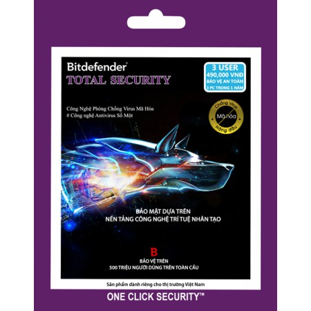 Phần mềm diệt virus Bitdefender Total Security 3PCs/1Y - 311776401,322_311776401,319000,shopee.vn,Phan-mem-diet-virus-Bitdefender-Total-Security-3PCs-1Y-322_311776401,Phần mềm diệt virus Bitdefender Total Security 3PCs/1Y