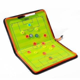 Football Soccer Coach Strategy Board Magnetic Tactic Board with Marker Pieces