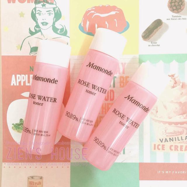 Nước hoa hồng mini Mamonde Rose Water Toner 25ml - 3105458 , 558264420 , 322_558264420 , 20000 , Nuoc-hoa-hong-mini-Mamonde-Rose-Water-Toner-25ml-322_558264420 , shopee.vn , Nước hoa hồng mini Mamonde Rose Water Toner 25ml