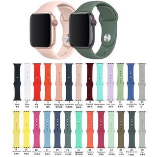 Dây silicon Apple Watch đồng Hồ Thông Minh iWatch 1/ 2/ 3/ 4/ 5 Dây ngắn Size 42mm 44mm