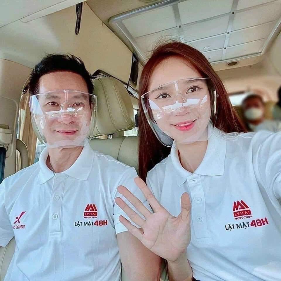 Kính Bảo Hộ Chống Bụi Face Shield Mask Mặt nạ bảo hộ Tấm Chắn Giọt Bắn Trong Suốt Che Cả Mặt