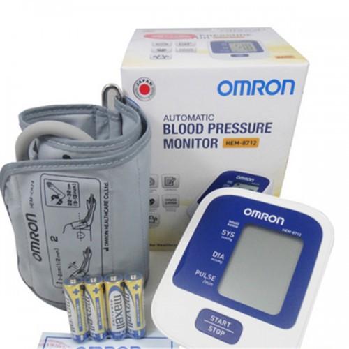Máy đo huyết áp bắp tay điện tử OMRON 8712 - 3568810 , 1144974368 , 322_1144974368 , 820000 , May-do-huyet-ap-bap-tay-dien-tu-OMRON-8712-322_1144974368 , shopee.vn , Máy đo huyết áp bắp tay điện tử OMRON 8712