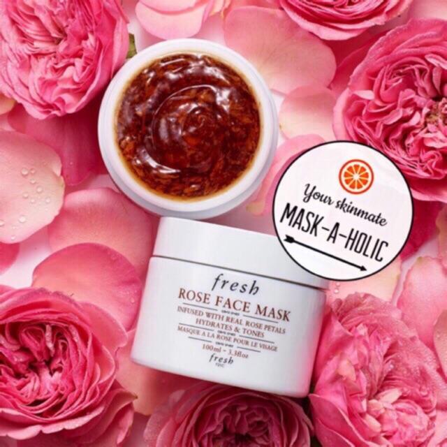 [100mL] Mặt nạ hoa hồng FRESH Rose Face Mask