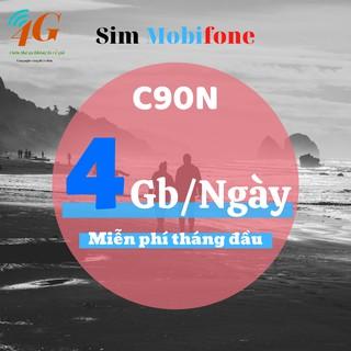 Sim mobiphone C90N 4G/ngày [CHÍNH HÃNG] sim mobi data vào mạng tốc độ cao – nghe gọi thả ga – SIMDATA4G