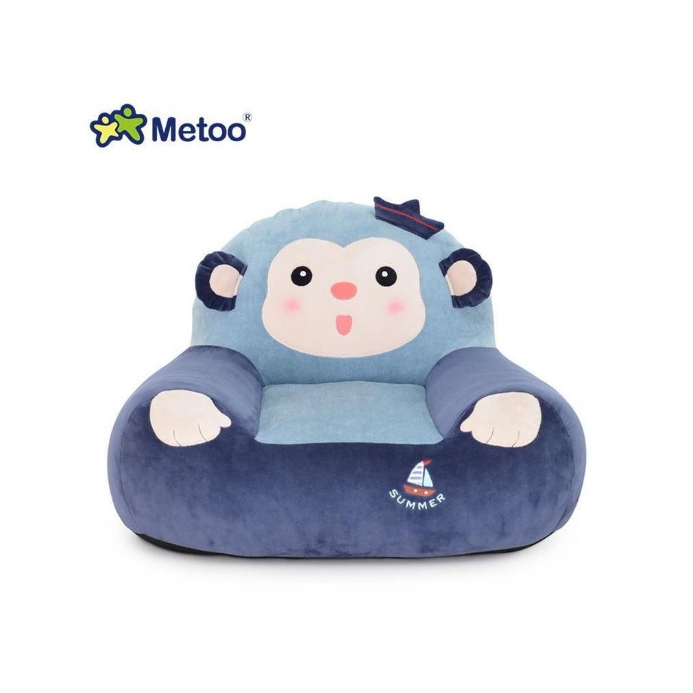 Ghế Beanbag chính hãng Metoo cho bé hình Khỉ xanh kute