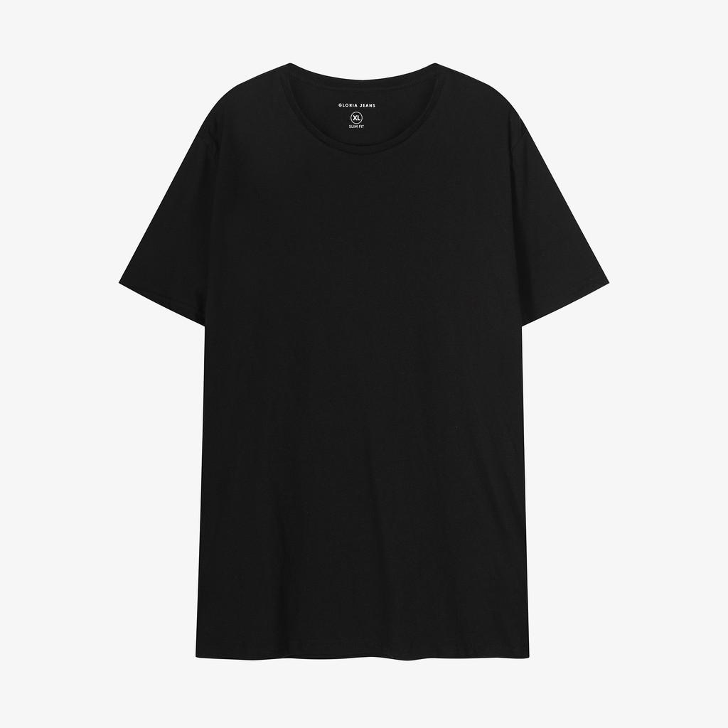 Áo thun nam cổ tròn vải cotton kiểu dáng Slimfit thương hiệu Basic Wear 4 Men