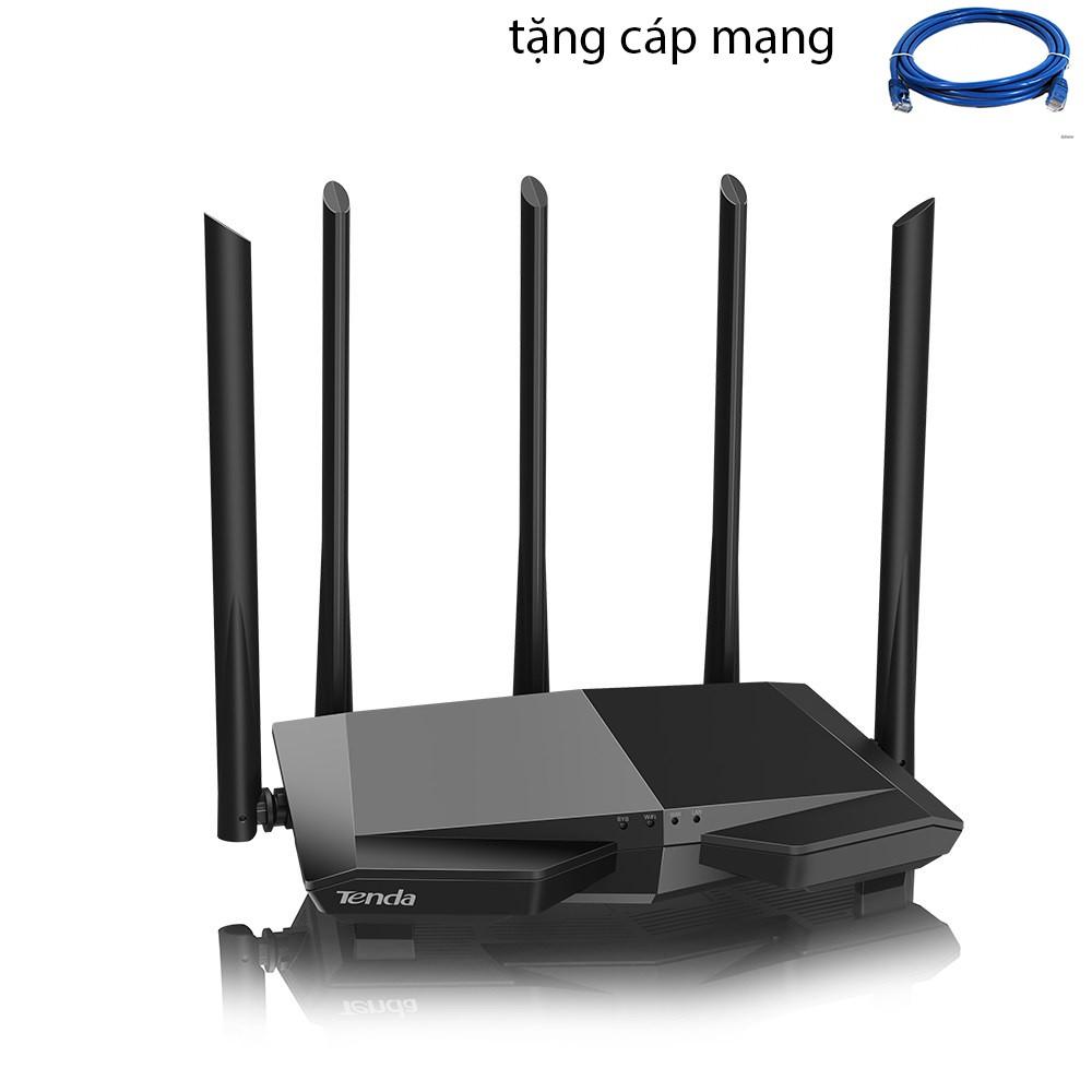 [Mã ELCLMAY giảm 7% đơn 500K] Phát wifi Tenda AC7 5 râu xuyên tường - nâng cấp của Tenda AC6
