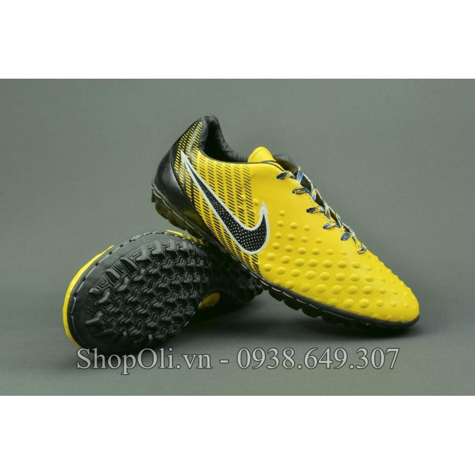Giày đá bóng sân cỏ nhân tạo Magista màu vàng đen