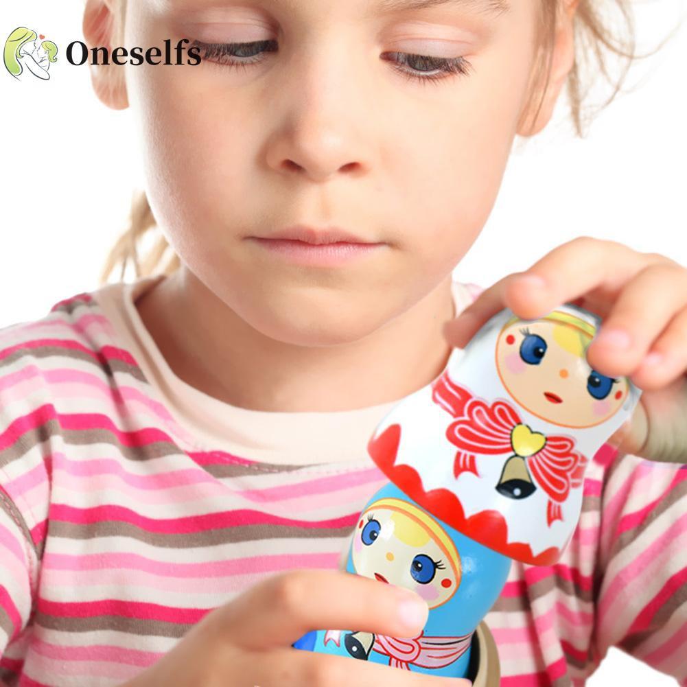 OS❤COD√Russian Nesting Dolls Matryoshka Dolls Wooden Handmade Painted Gift Toys