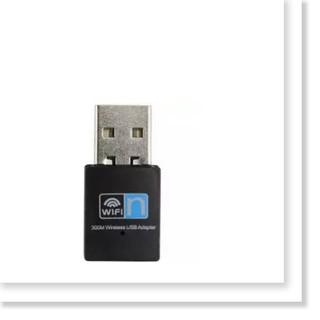 Bộ thu sóng wifi USB Wifi Wireless Adapter Realtek 8192 300Mbps Sankeien