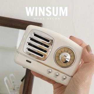 Loa Bluetooth Vintage Nghe Nhạc So Chill  - Winsum.decor