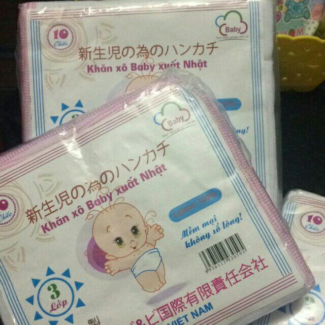 Set 10 chiếc khăn xô baby xuất nhật 3 lớp ( sỉ, lẻ) - 9931723 , 488119914 , 322_488119914 , 25000 , Set-10-chiec-khan-xo-baby-xuat-nhat-3-lop-si-le-322_488119914 , shopee.vn , Set 10 chiếc khăn xô baby xuất nhật 3 lớp ( sỉ, lẻ)