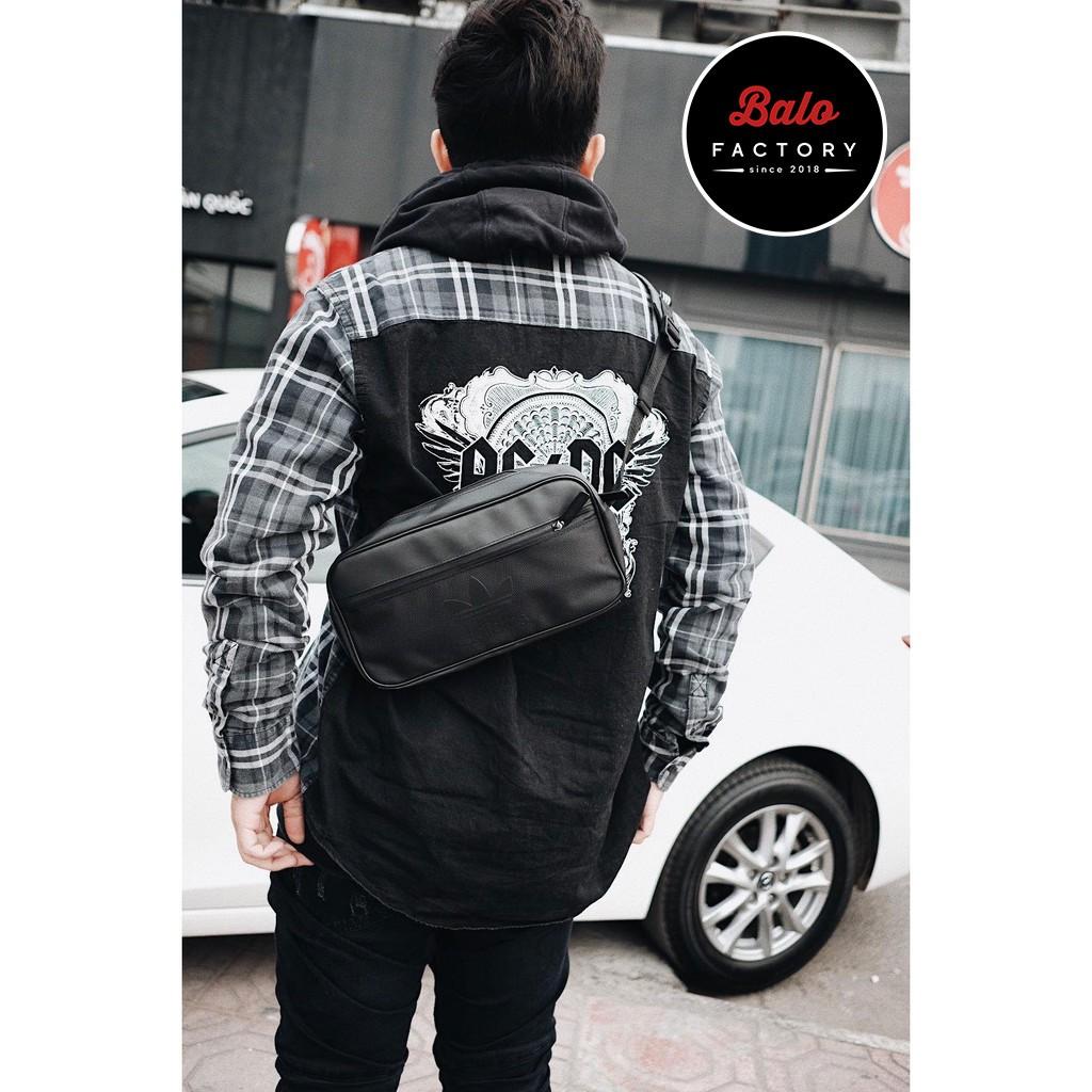 XẢ KHO - Túi Đeo Chéo Nam nữ Das Originals Crossbody Sport Bag FULL TAG (HÌNH THẬT)