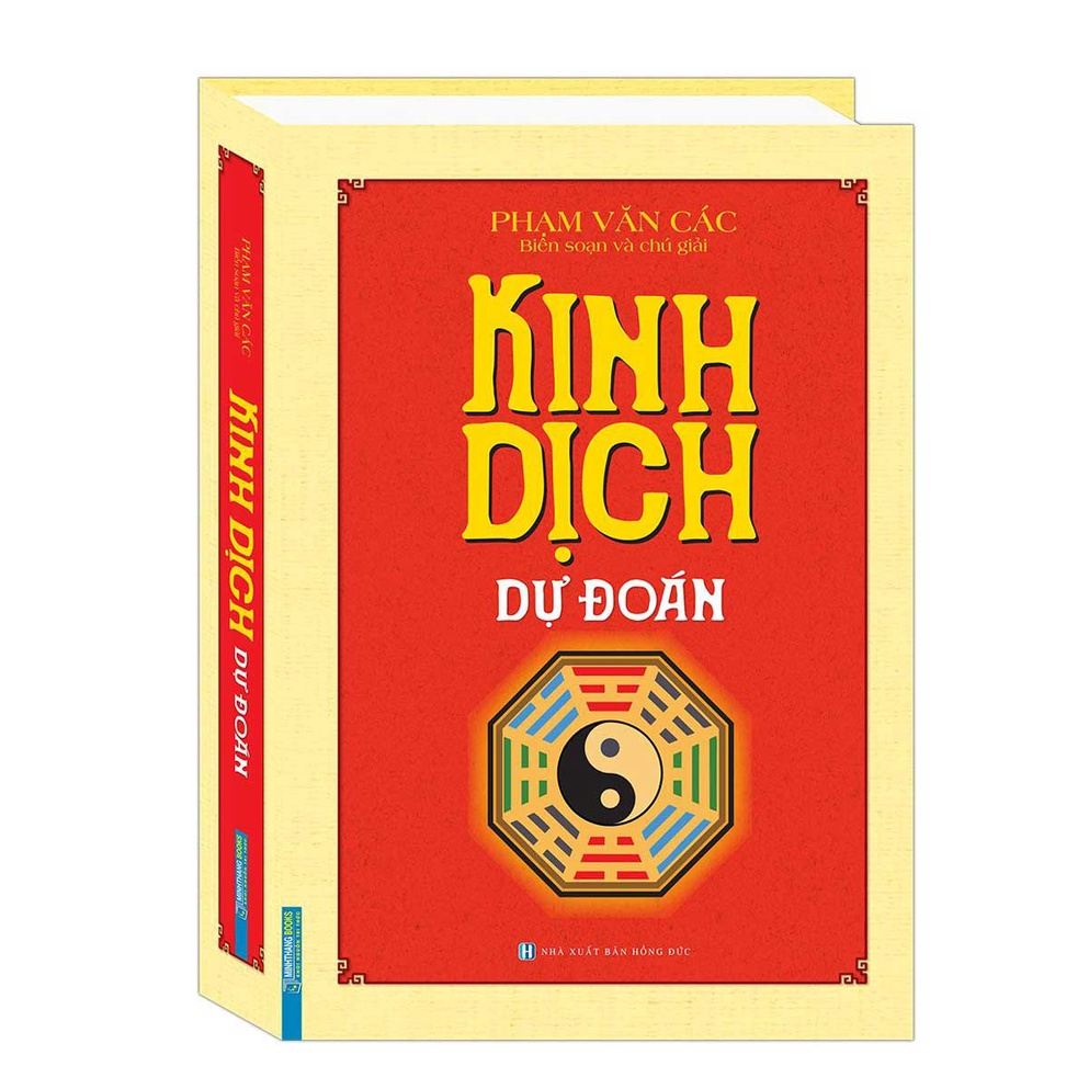 Sách - Kinh dịch dự đoán (bìa cứng)