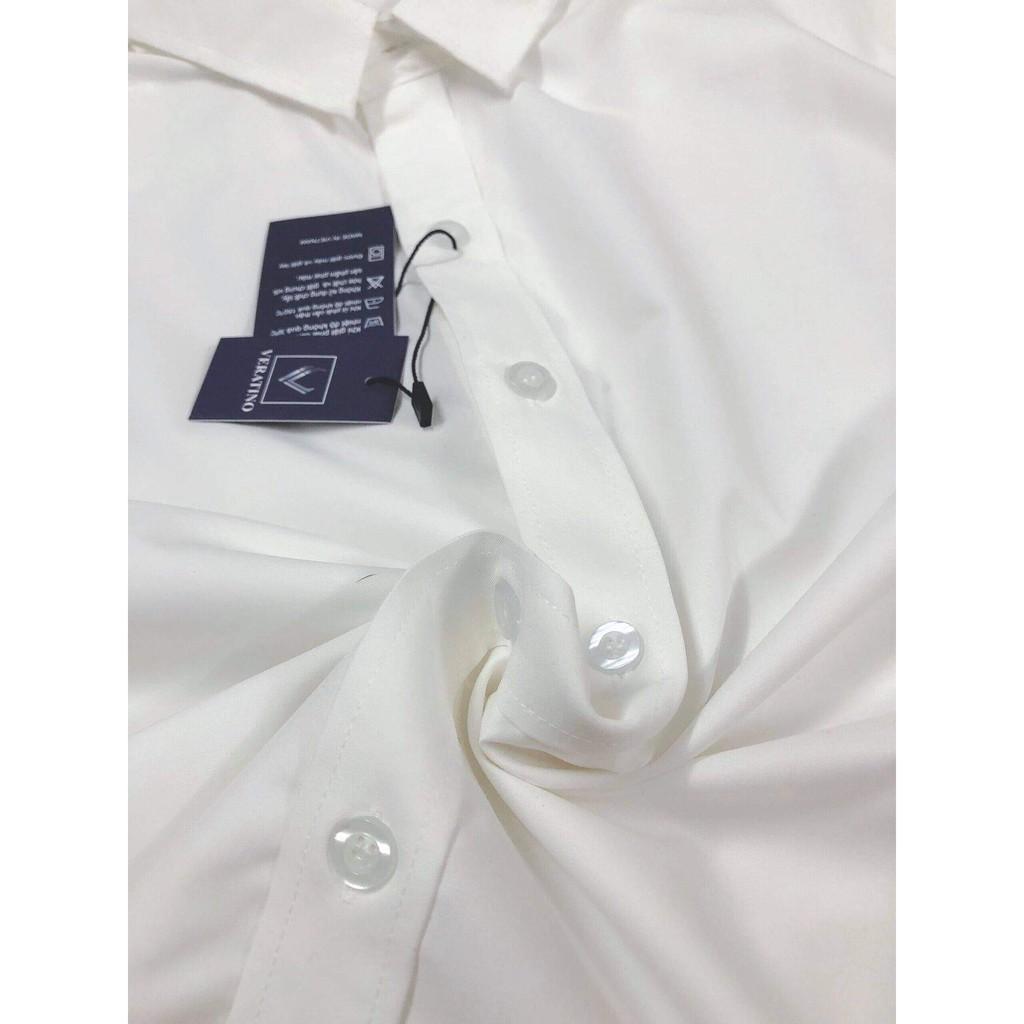 Mặc gì đẹp: Sang trọng với Áo sơ mi nam trơn dài tay, gấp hộp (7 màu) áo sơ mi công sở chất liệu lụa mịn cao cấp(Cam Kêt Chất Lượng)