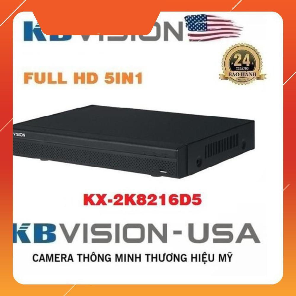 Camera {Giá sốc} Đầu ghi hình HDCVI 16 kênh KBVISION KX-2K8216D5 ... ! .