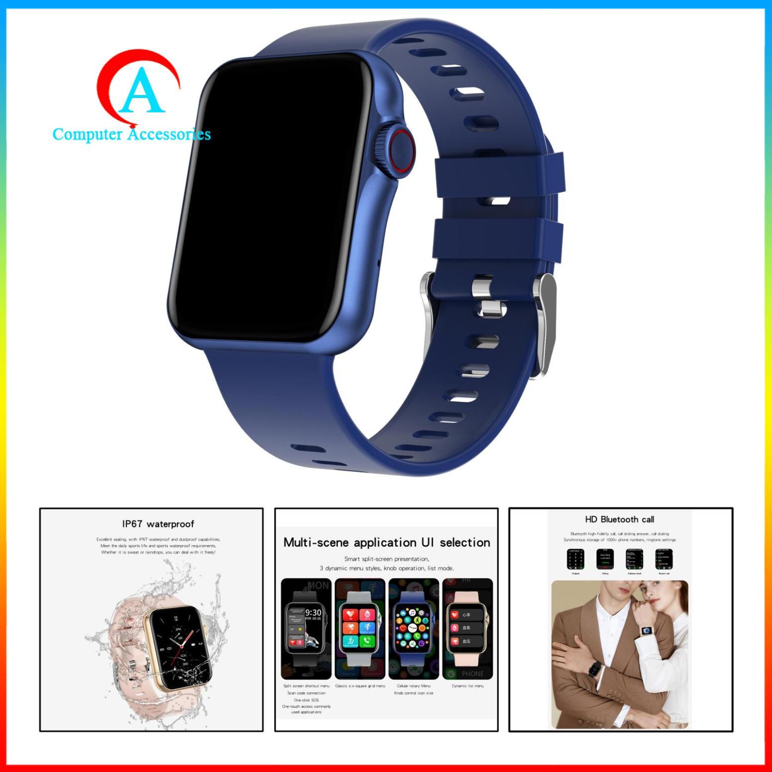 Đồng Hồ Thông Minh D06 Chống Nước Kết Nối Bluetooth Màu Hồng