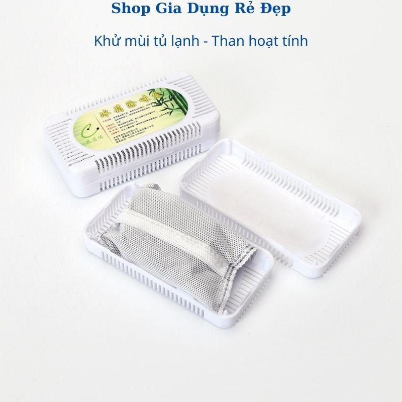 HÚT MÙI TỦ LẠNH THAN TRE HOẠT TÍNH💥FREE SHIP💥Khử Mùi Tủ Lạnh, Ô tô...Kháng khuẩn, Chống Oxy hóa bằng than hoạt tính