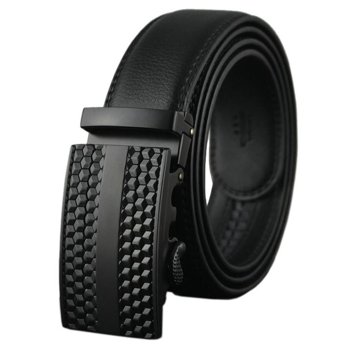 Thắt lưng nam da thật Anh Tho Leather - P101 màu đen