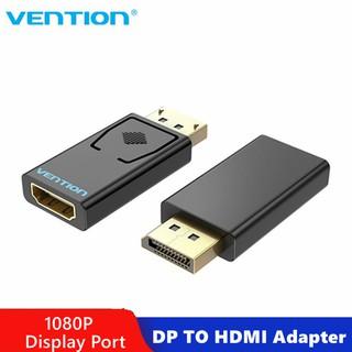Yêu ThíchVention DP to HDMI Adapter 1080P Display Port Male to HDMI Female Converter