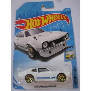 Xe mô hình Hot Wheels Custom Ford Maverick FJV52