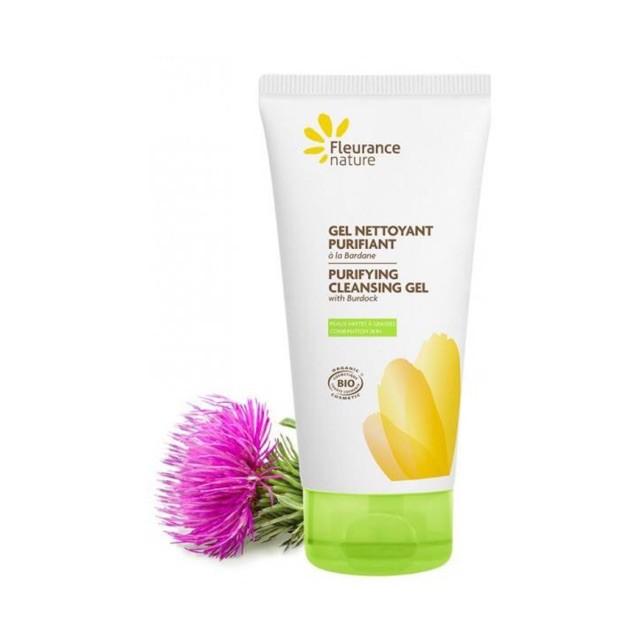 Gel rửa mặt hữu cơ thanh lọc da hãng Fleurance 150ml