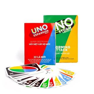 Combo Bài Uno đại chiến mở rộng – Uno Expansion & Uno storm