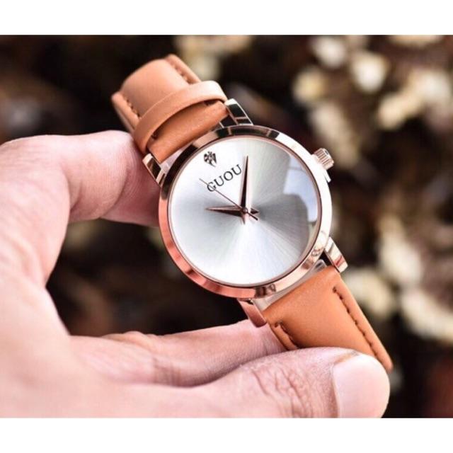 Đồng hồ Guou nữ dây da mặt tròn G1150 - 3373383 , 647861860 , 322_647861860 , 350000 , Dong-ho-Guou-nu-day-da-mat-tron-G1150-322_647861860 , shopee.vn , Đồng hồ Guou nữ dây da mặt tròn G1150