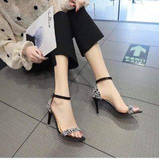 Sandal cao gót big sale
