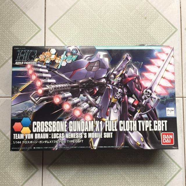 Mô Hình HGBF 035 Crossbone Gundam X1 Full Cloth Type.GBFT