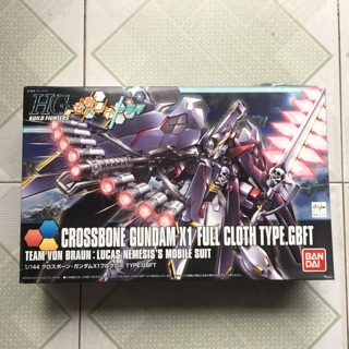 Mô Hình HGBF 035 Crossbone Gundam X1 Full Cloth Type.GBFT