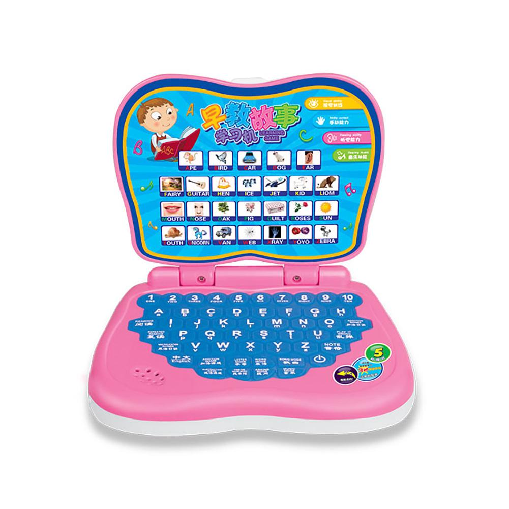 New Baby Kids Pre School Educational Learning Study Toy Laptop Computer Game Chinese / English Toy`
