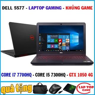 quái vật gaming dell 5577 core i7 7700hq, gtx 1050 4g, laptop cũ chơi game cơ bản đồ họa