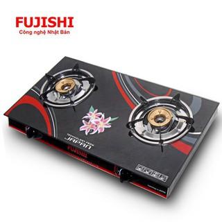 Bếp sử dụng khí BIOGAS chén đồng kính cường lực FUJISHI FJ-BG3