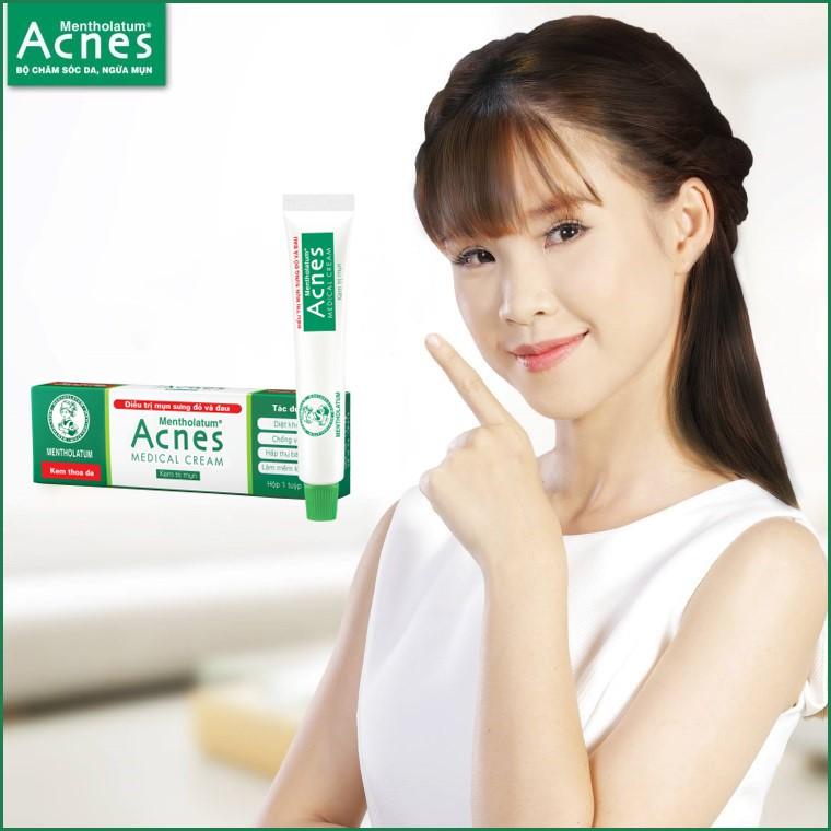 sản phẩm Kem trị mụn ẩn Acnes Medical Cream