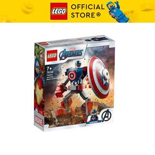 LEGO SUPERHEROES 76168 Chiến Giáp Captain America ( 121 Chi tiết)