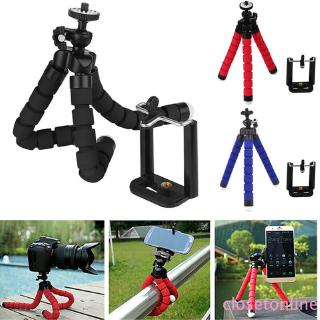 COD Adjustable Mini Stand Bracket Flexible Tripod Stand for Camera DSLR DV with FREE Phone CL
