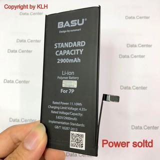 Pin iPhone chính hãng BASU tiêu chuẩn EU USA, dung lượng chuẩn cho Ip 5, 6, 7, 8, X DATA shop